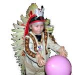 ilustrace - dětský karneval