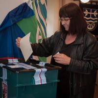 komunální volby v obci Všestudy
